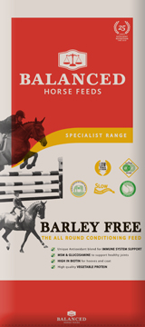 horse feed without barley