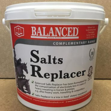 electrolytes for horses and ponies Balanced Salts Replacer