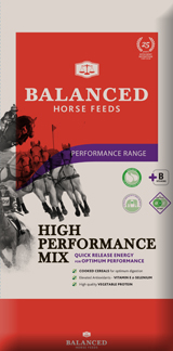 high quality mix for horses in hard work