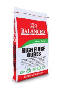 High Fibre cubes nuts horse feed