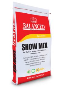 Show Mix, The original high fibre horse feed for weight gain, topline and condition