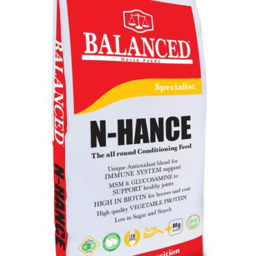 N-hance the all round conditioning feed with biotin